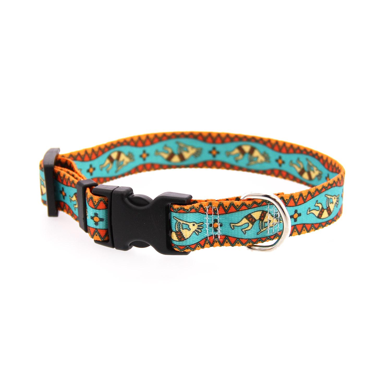 Kokopelli Dog Collar by Yellow Dog