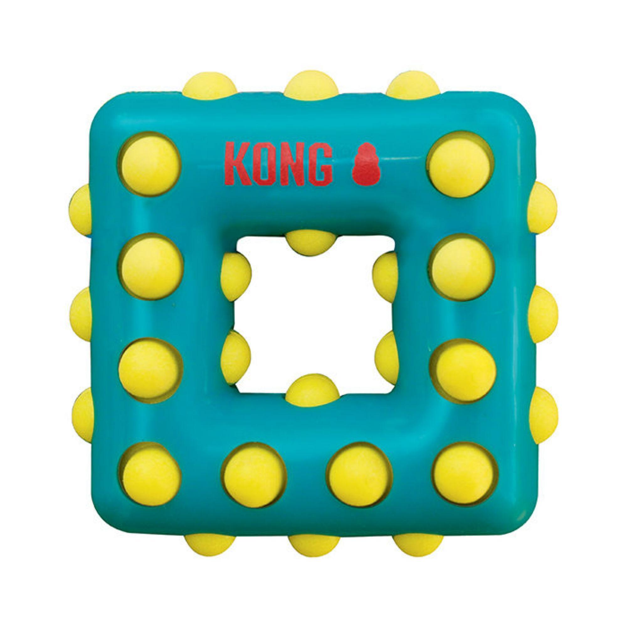 KONG Dotz Dog Toy - Square