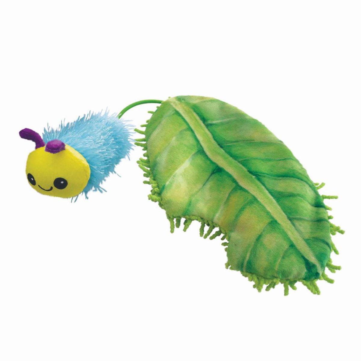 KONG Flingaroo Caterpillar Cat Toy
