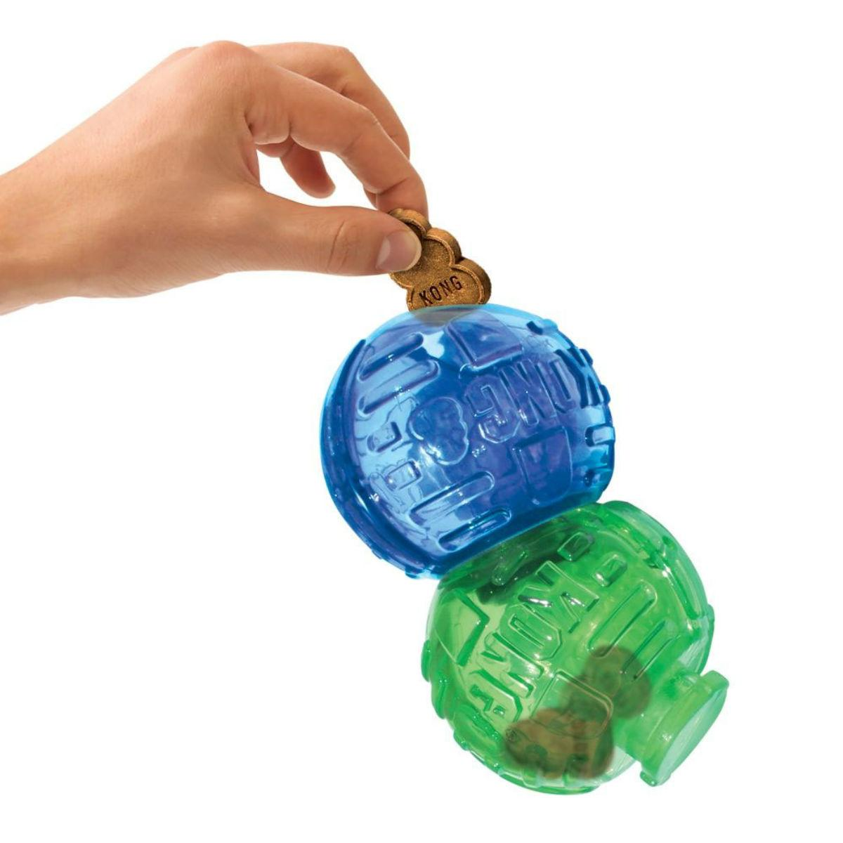 KONG Lock-it Treat Puzzle Dog Toy