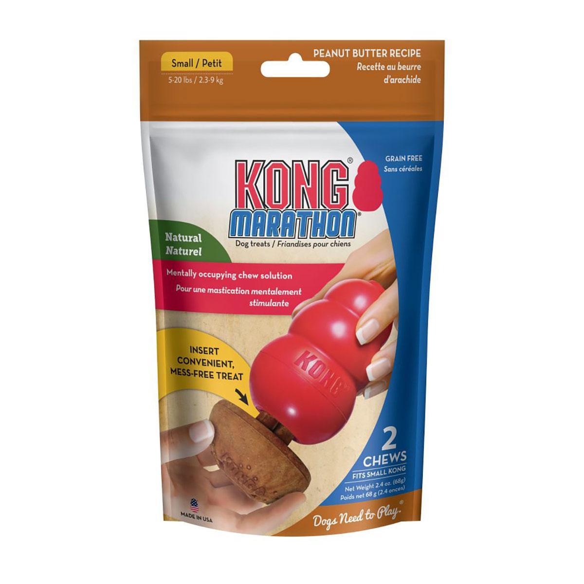 KONG Marathon® 2-pk Dog Treat - Peanut Butter