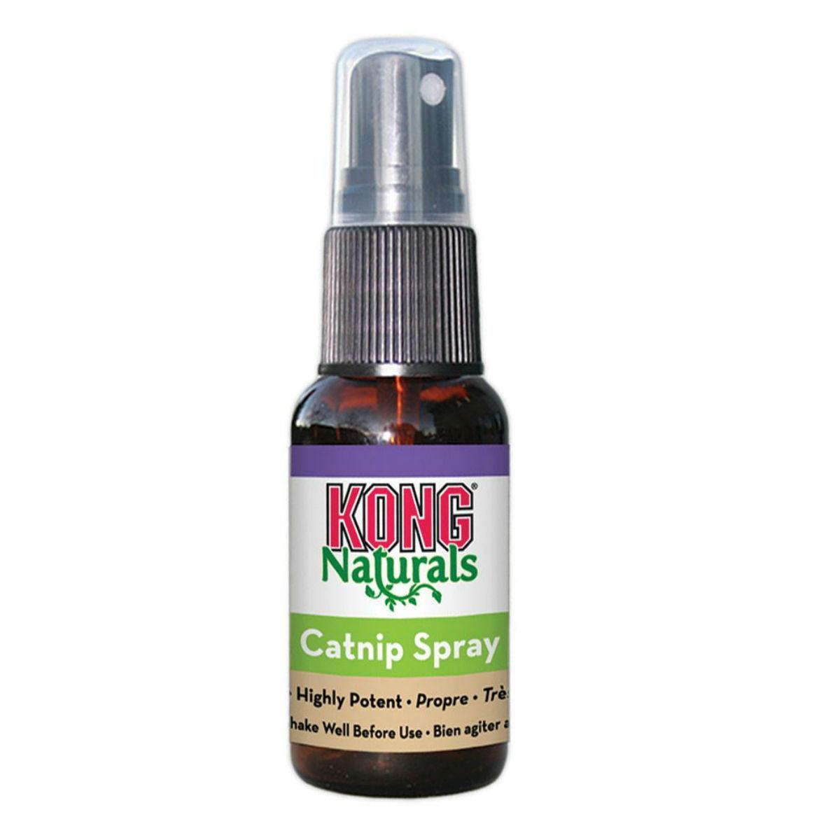 KONG Naturals Premium Catnip Spray