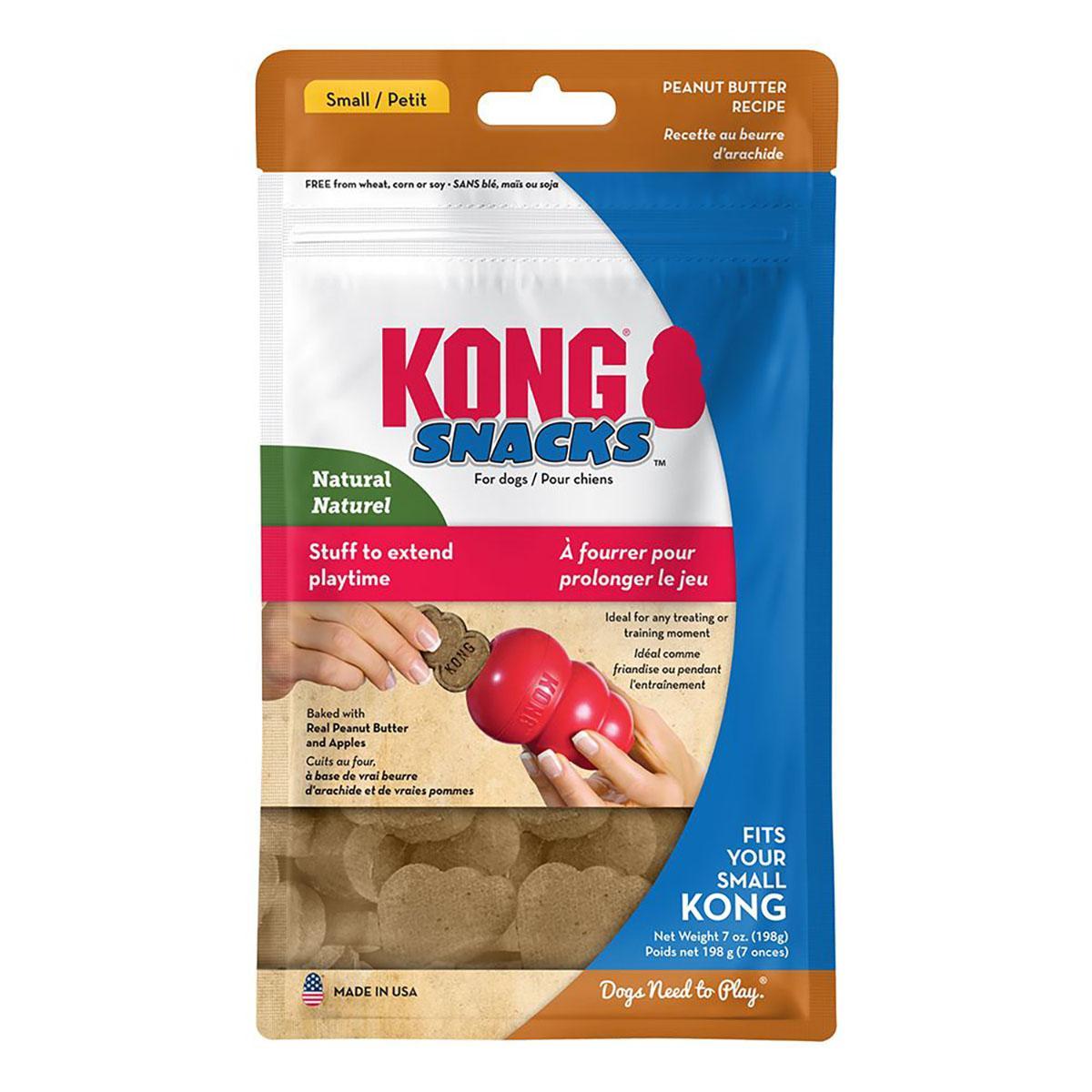 KONG Peanut Butter Snacks Dog Treats