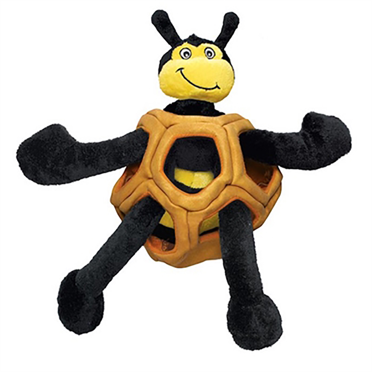 KONG Puzzlements Dog Toy - Bee