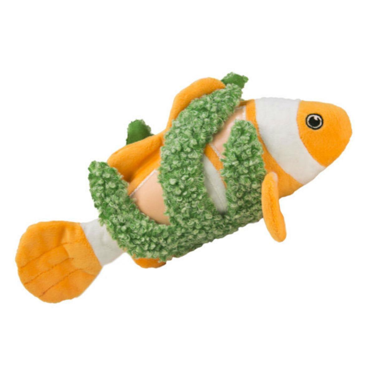 KONG Riptides Dog Toy - Fish
