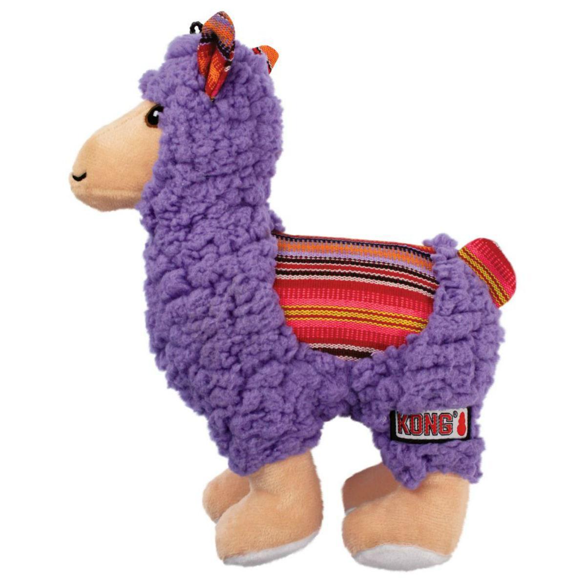 KONG Sherps Llama Dog Toy