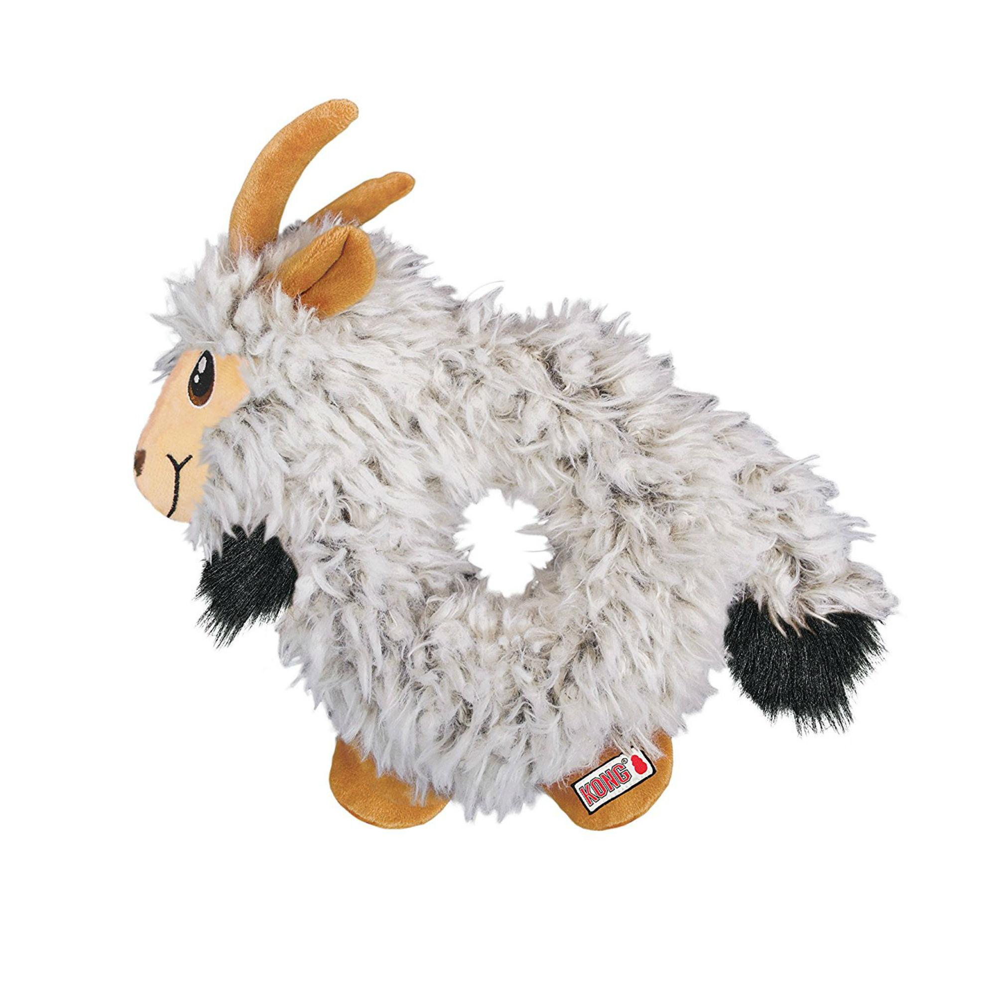 KONG Trekkers Dog Toy - Goat
