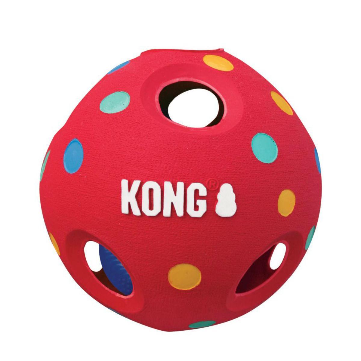 KONG Wiggi Tumble Ball Dog Toy
