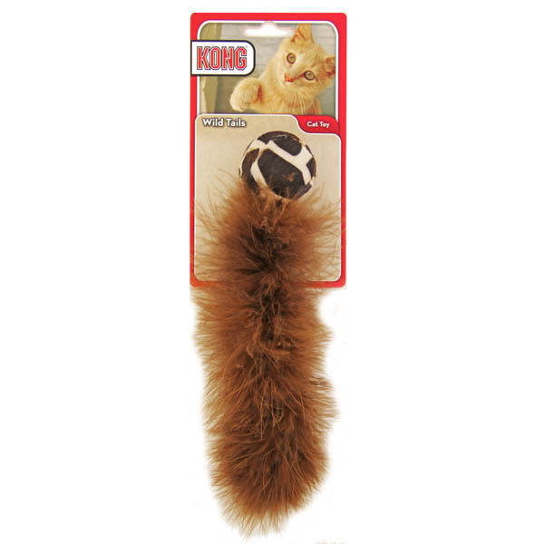 KONG Active Wild Tails Cat Toy