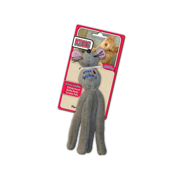 KONG Wubba Toy for Cats - Mouse