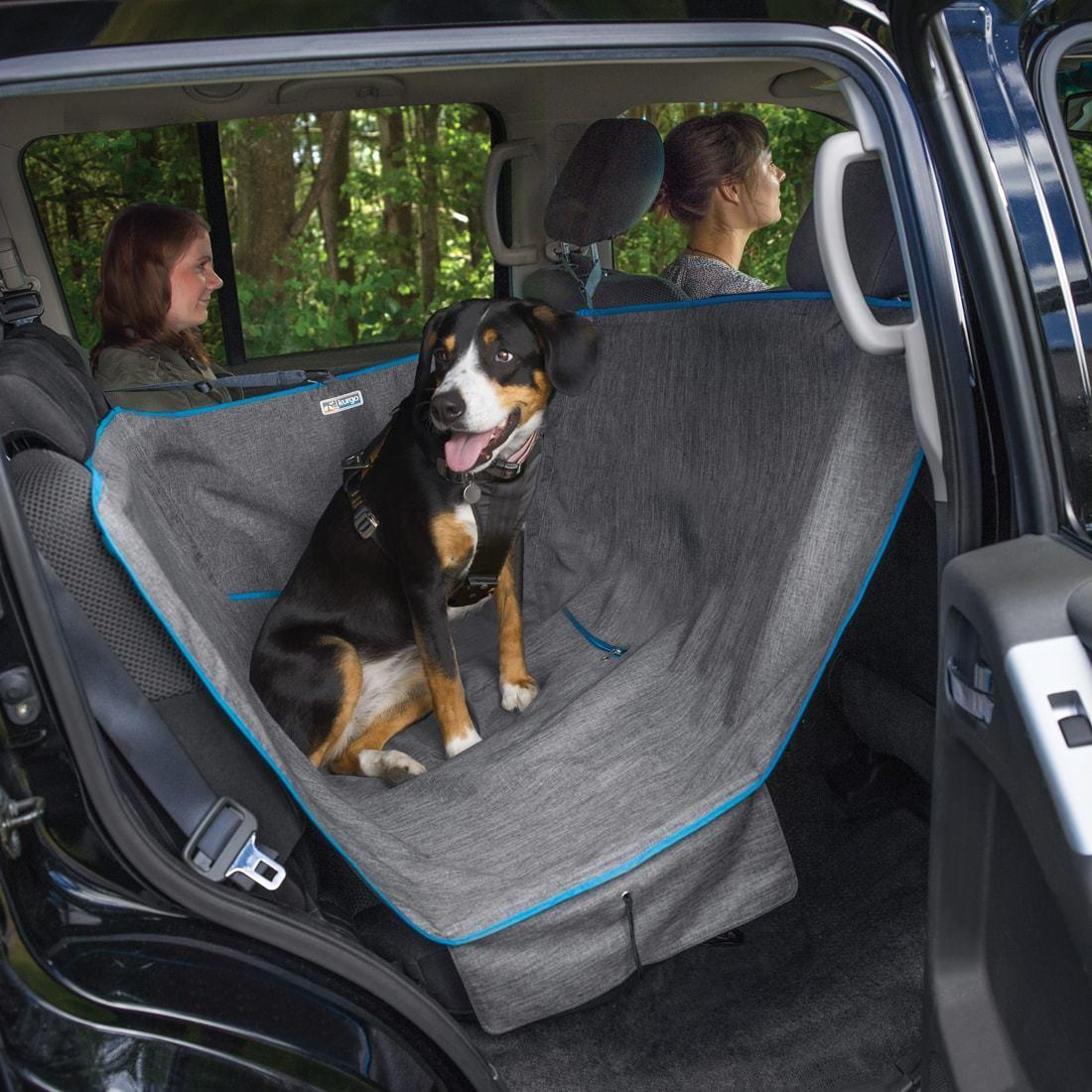 kurgo dog hammock half car seat cover with same day shipping baxterboo. Black Bedroom Furniture Sets. Home Design Ideas