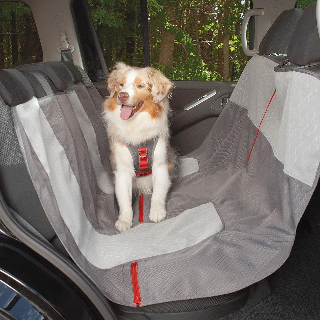 kurgo journey dog hammock car seat cover with same day shipping baxterboo. Black Bedroom Furniture Sets. Home Design Ideas