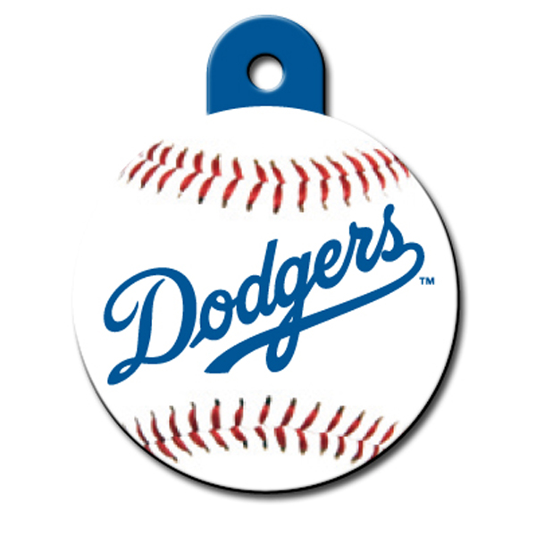L.A. Dodgers Engravable Pet I.D. Tag