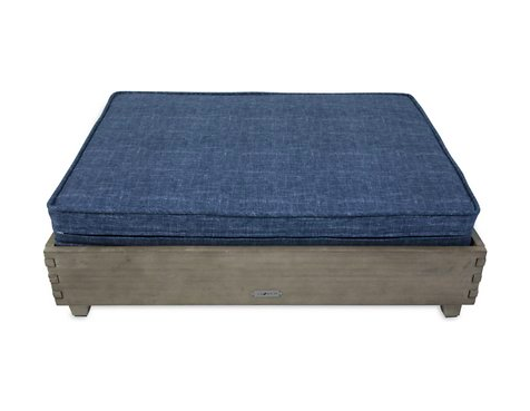 La-Z-Boy Bailey Outdoor Elevated Pet Bed for Dogs & Cats - Blue