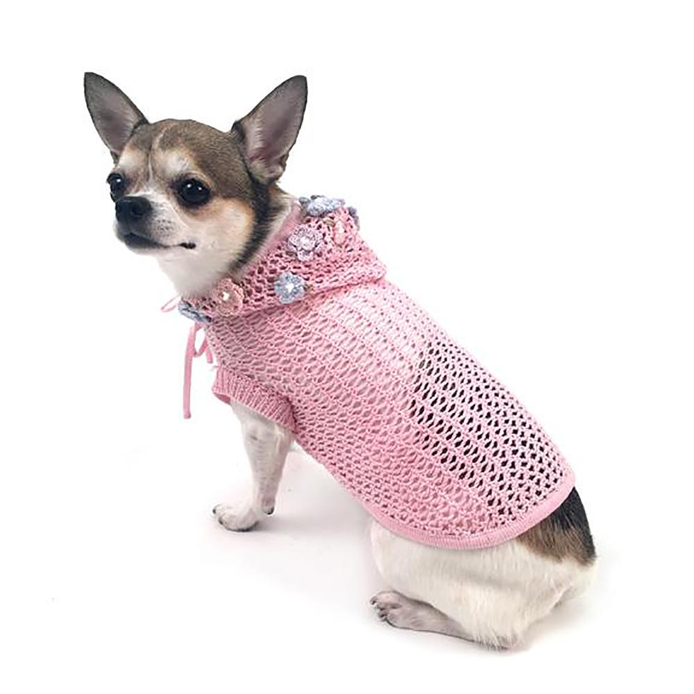 Lacey Breezy Dog Cover-Up Hoodie By Oscar Newman