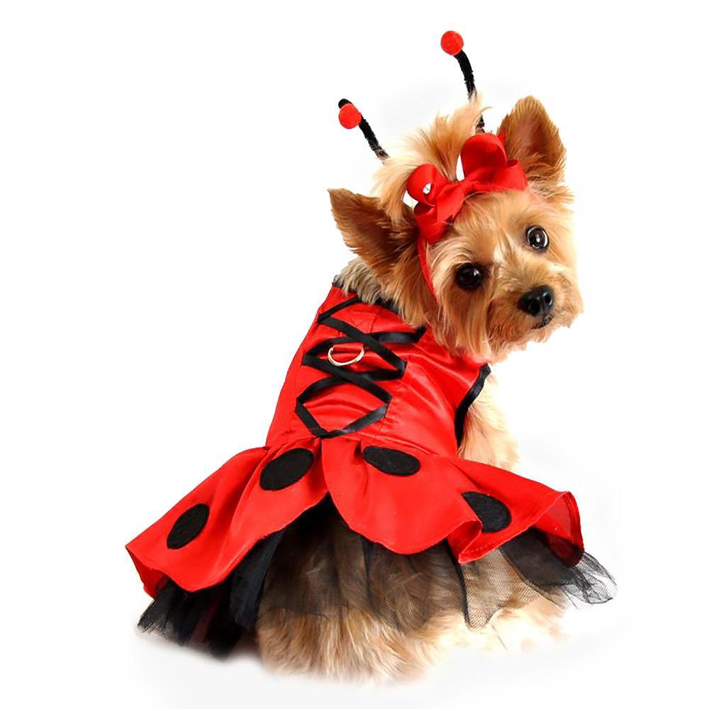 Ladybug Fairy Dog Costume Harness Dress by Doggie Design  sc 1 st  BaxterBoo & Ladybug Fairy Dog Costume Harness Dress by Doggie Design with Same ...