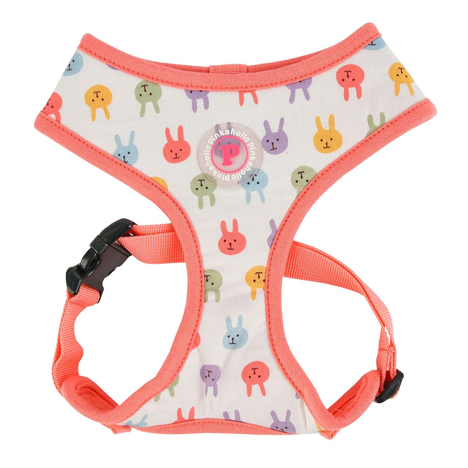 Hopper Basic Style Dog Harness by Pinkaholic - Indian Pink