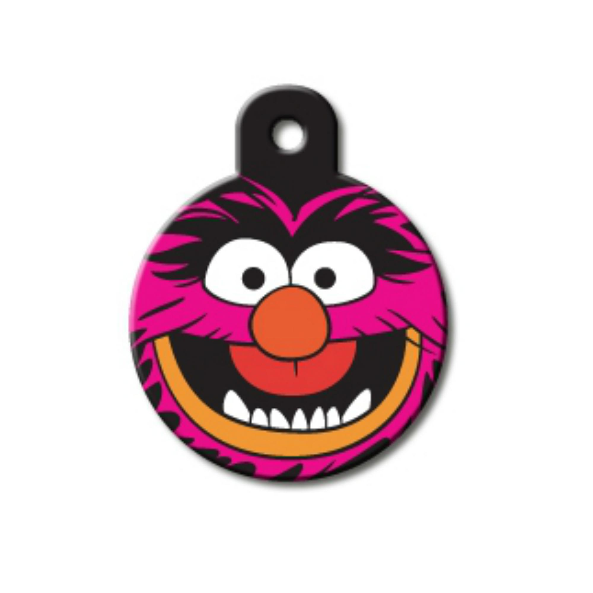 Disney© Large Circle Engravable Pet I.D. Tag - Animal Muppet