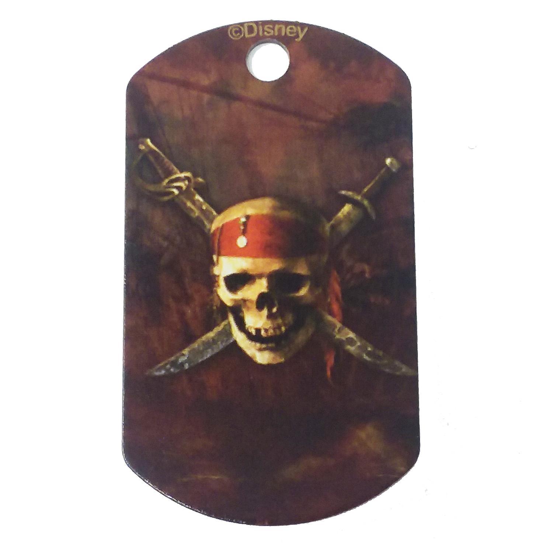 Large Military Engravable Pet I.D. Tag - Disney© Pirates of the Caribbean