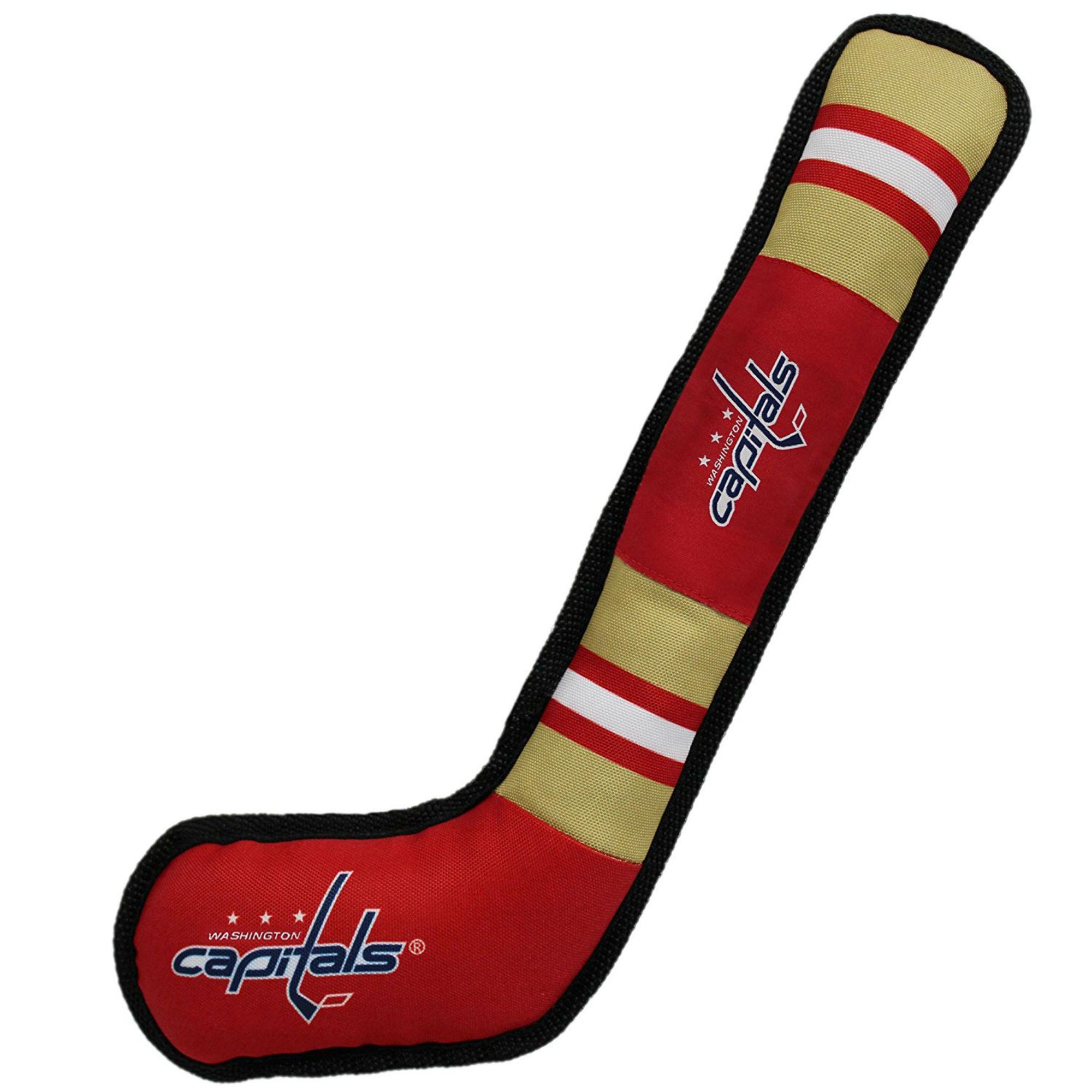 Washington Capitals Hockey Stick Dog Toy