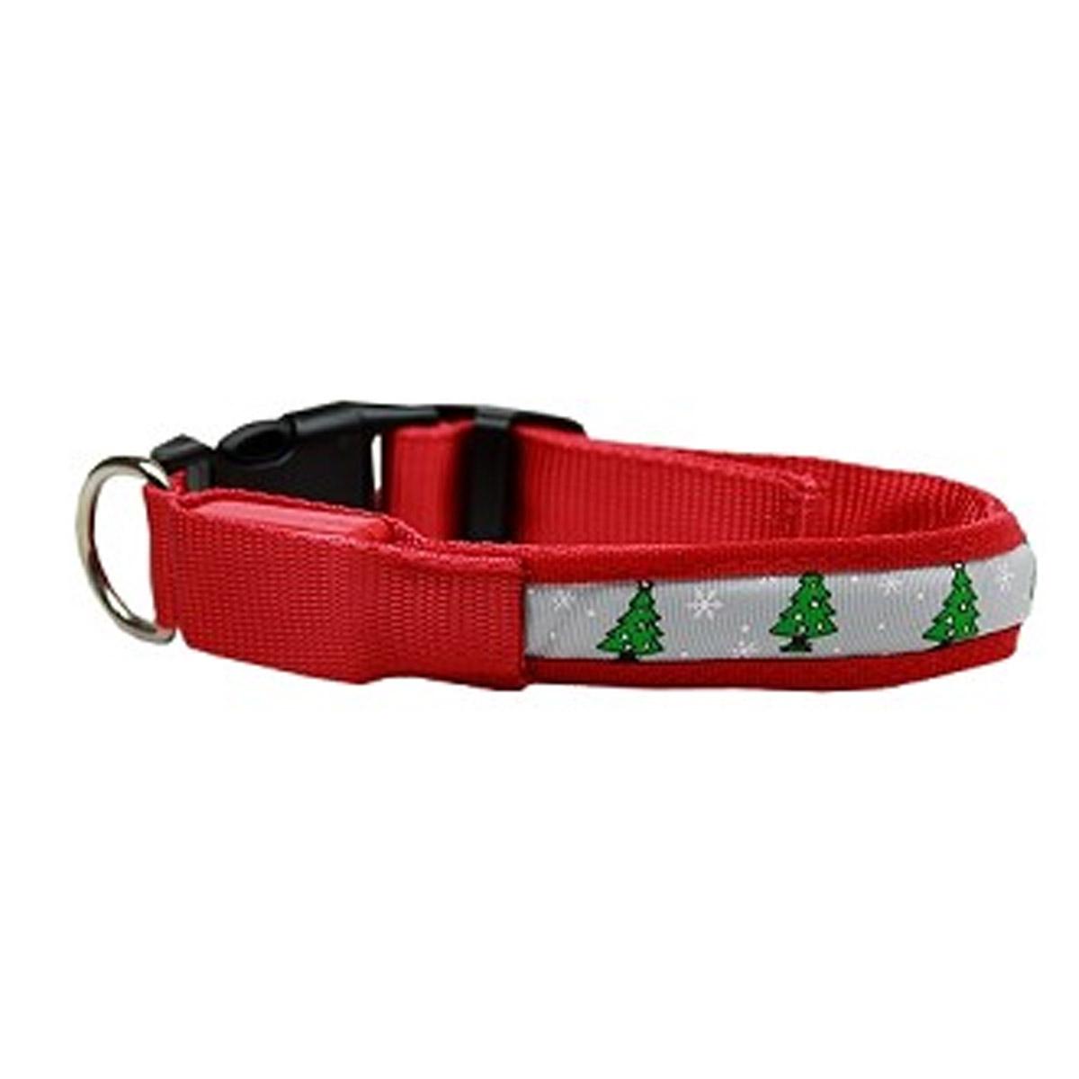 LED Christmas Tree Dog Collar