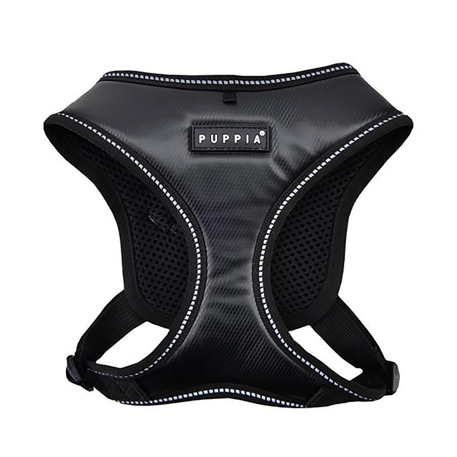 Legacy Snugfit Dog Harness By Puppia - Black