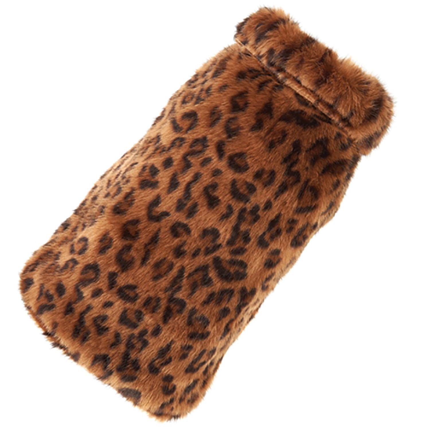 Leopard Fur Dog Coat by Up Country