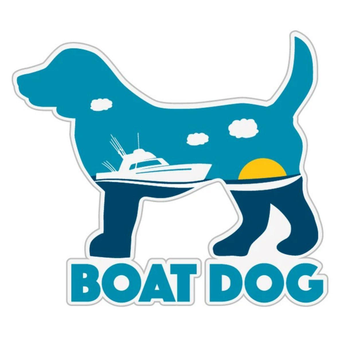 Boat Dog Sticker by Dog Speak