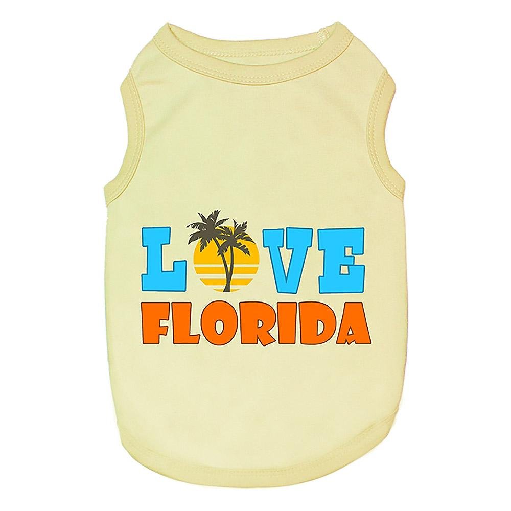 Love Florida Dog Tank