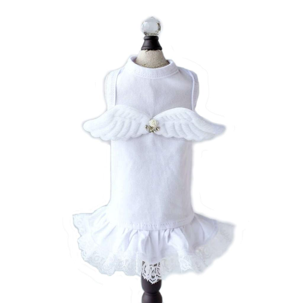 Lil' Angel Dog Dress by Hello Doggie