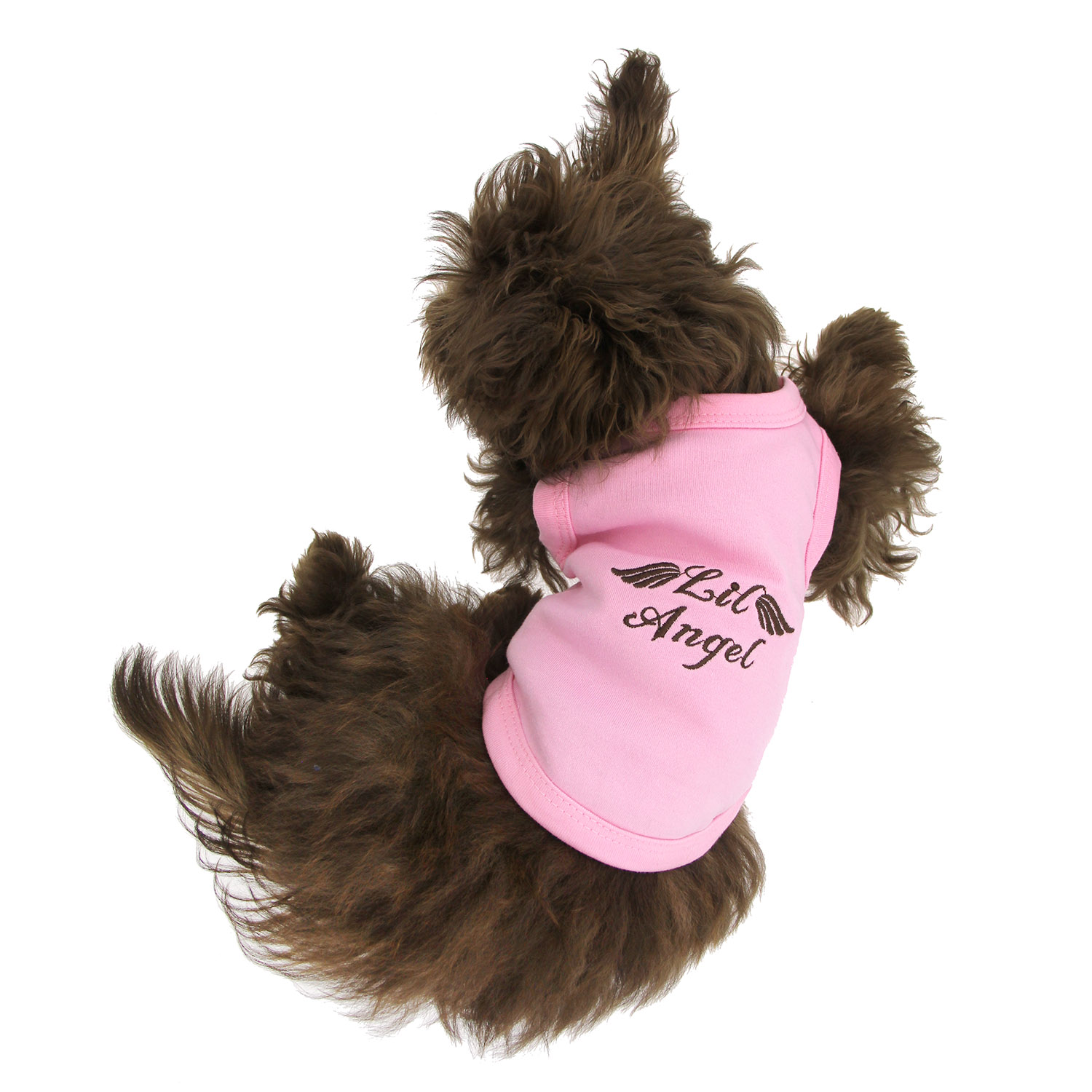 lil angel dog tank by parisian pet pink with same day shipping baxterboo. Black Bedroom Furniture Sets. Home Design Ideas