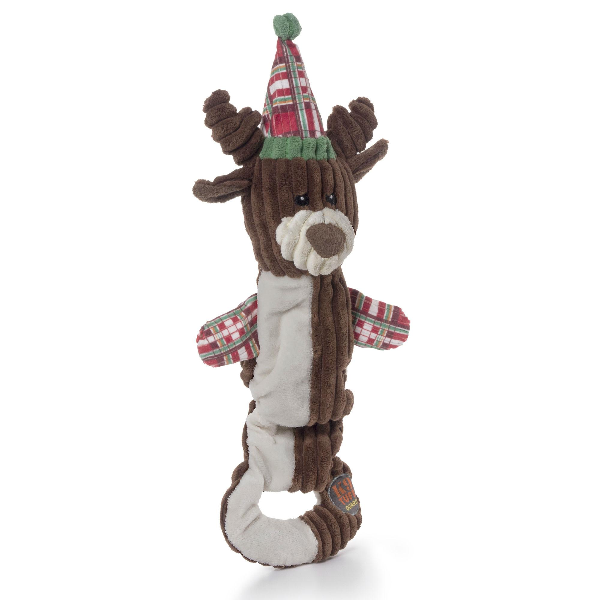 Lil Carolers Holiday Reindeer Dog Toy