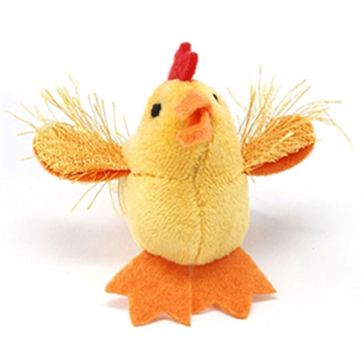 Look Who's Talking Cat Toy - Chicken