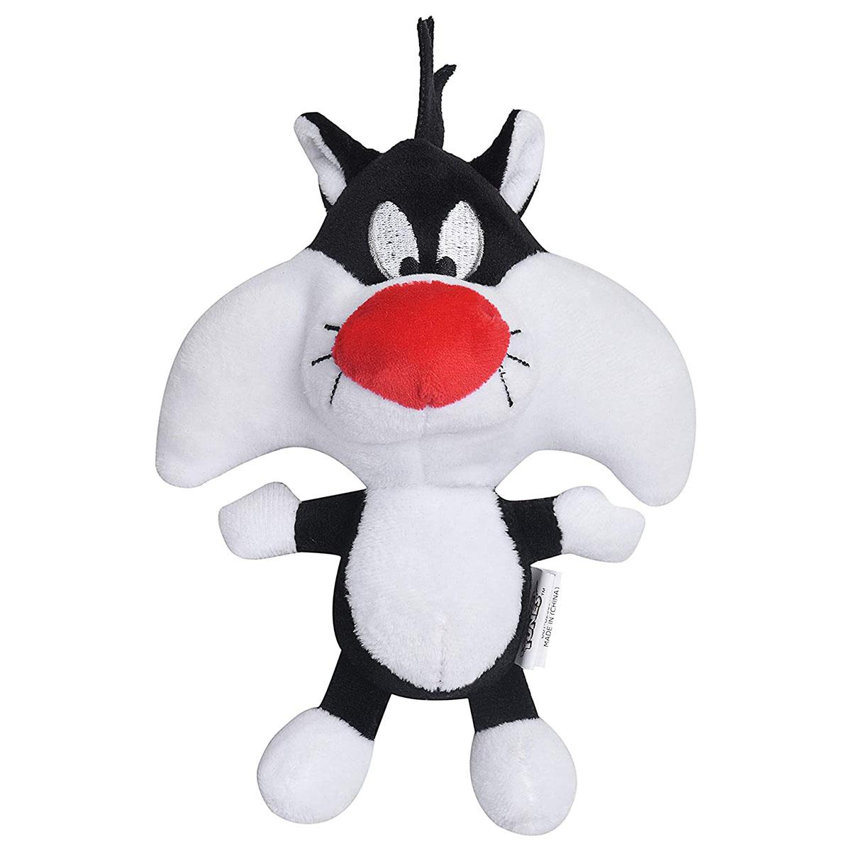 Looney Tunes Sylvester Big Head Plush Dog Toy