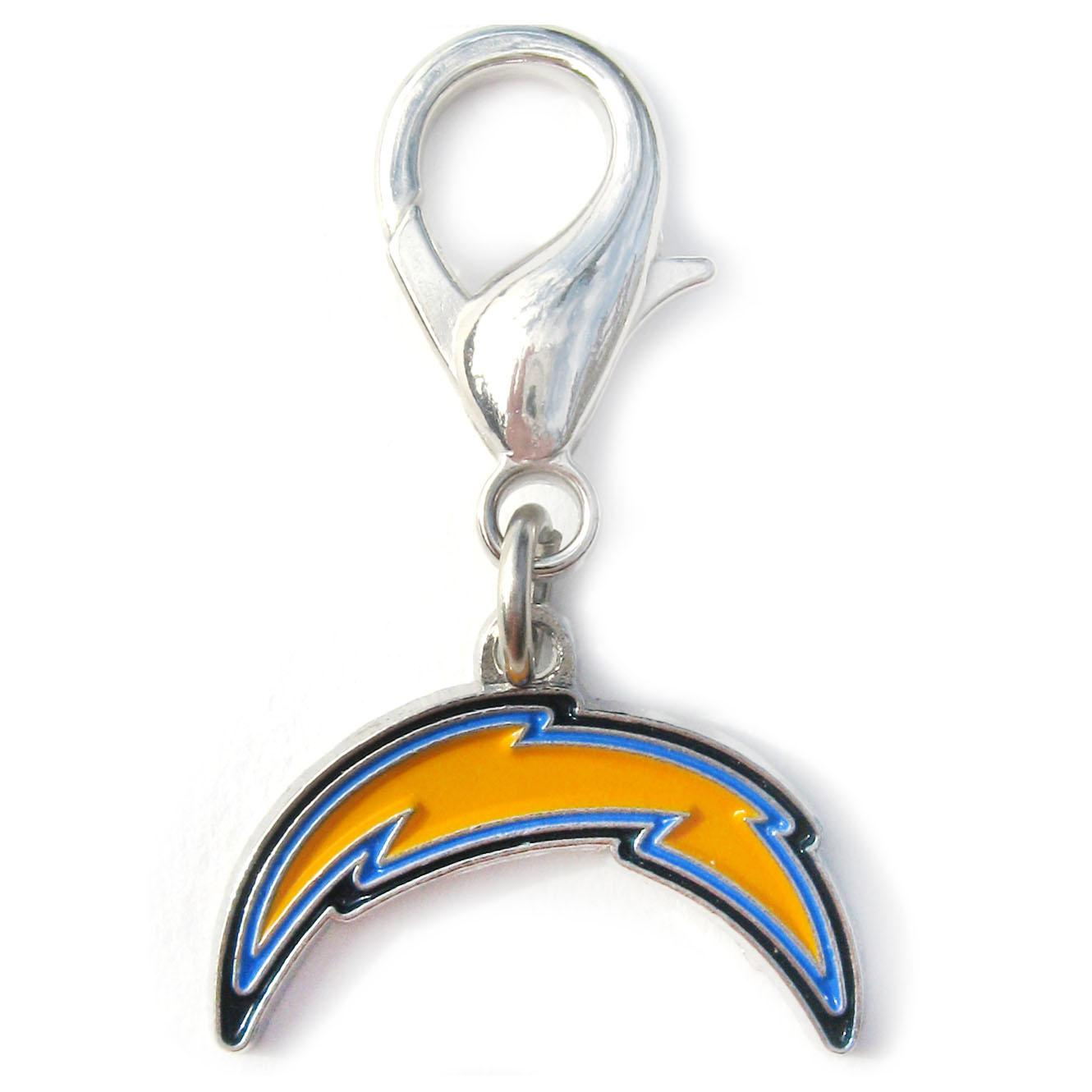 Los Angeles Chargers Logo Dog Collar Charm