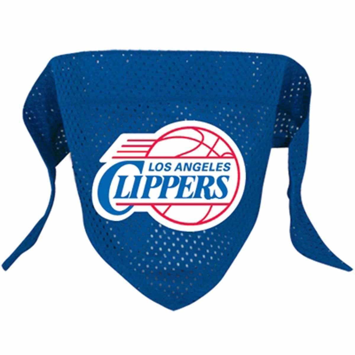 Los Angeles Clippers Mesh Dog Bandana