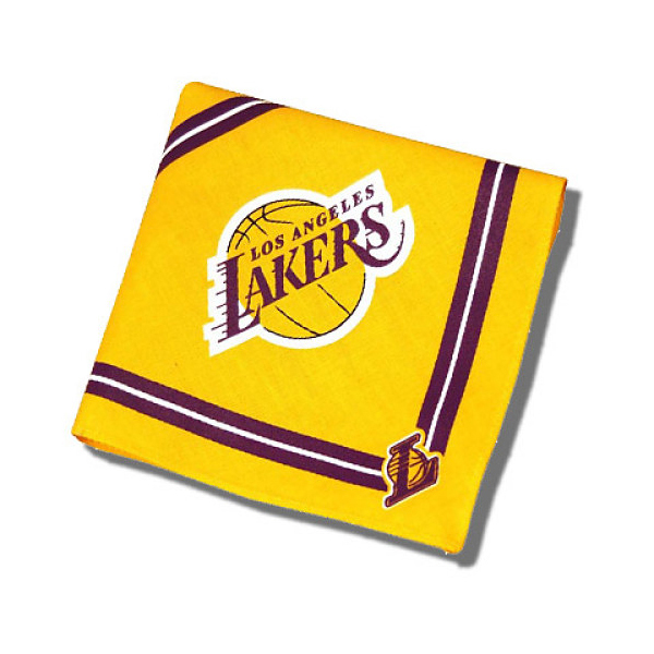 Los Angeles Lakers Dog Bandana