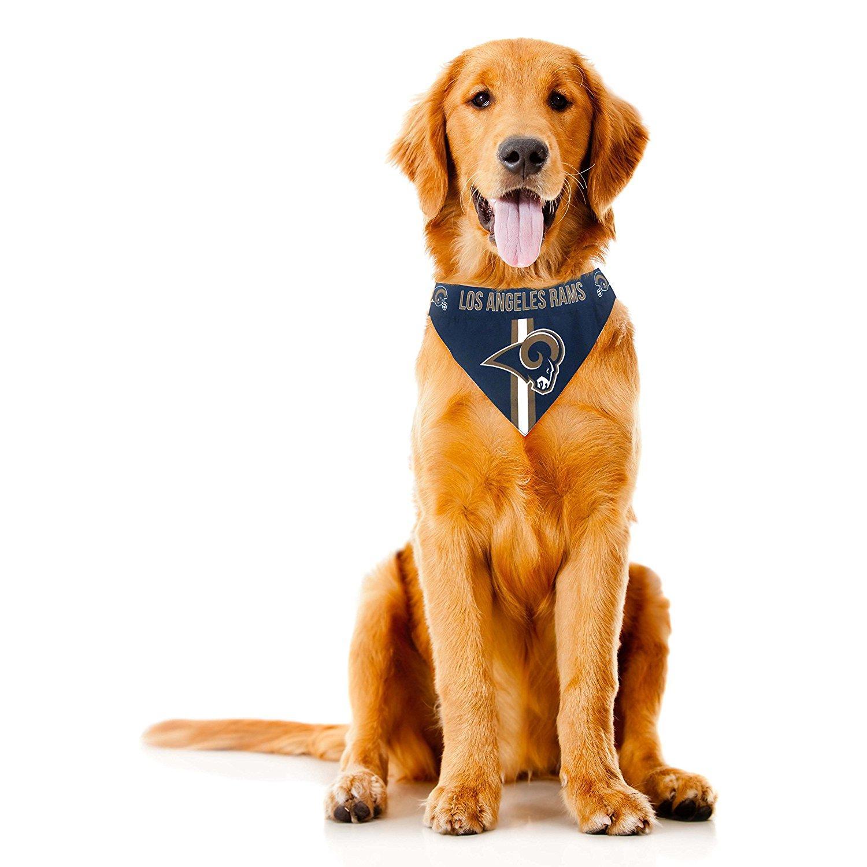 Los Angeles Rams Tie On Dog Bandana