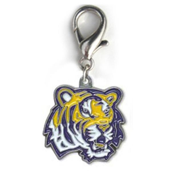 Louisiana State University Dog Collar Charm - Tiger