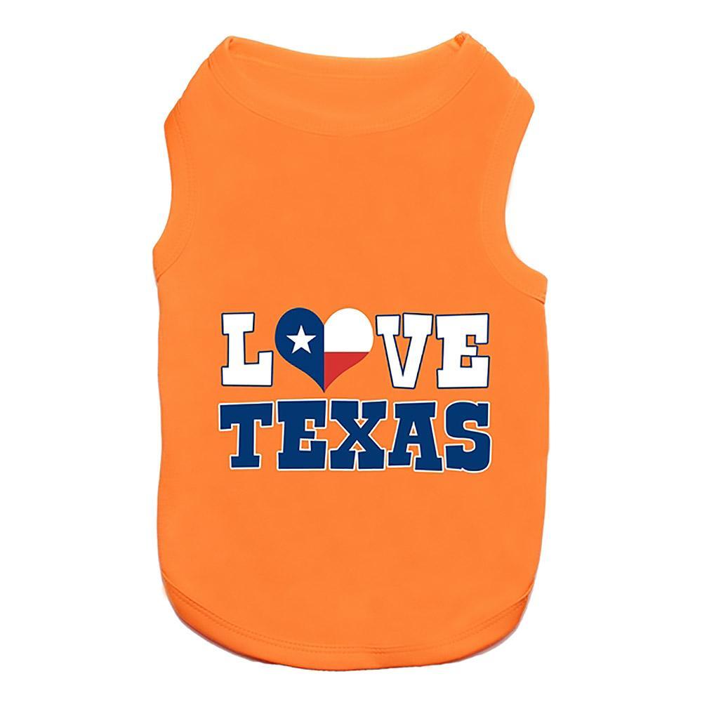 Love Texas Dog Tank