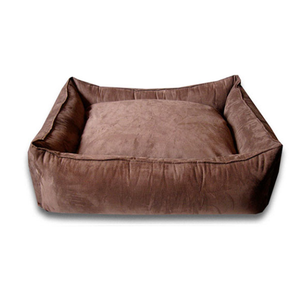Luca Lounge Dog Bed - Chocolate