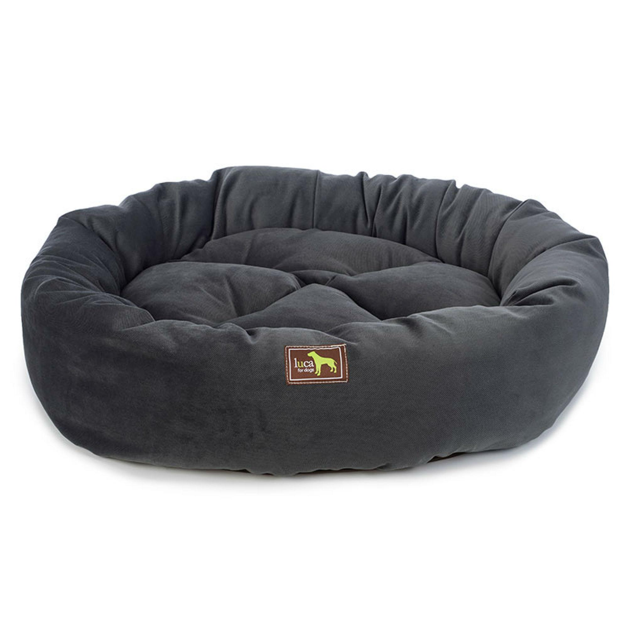 Luca Nest Dog Bed - Slate