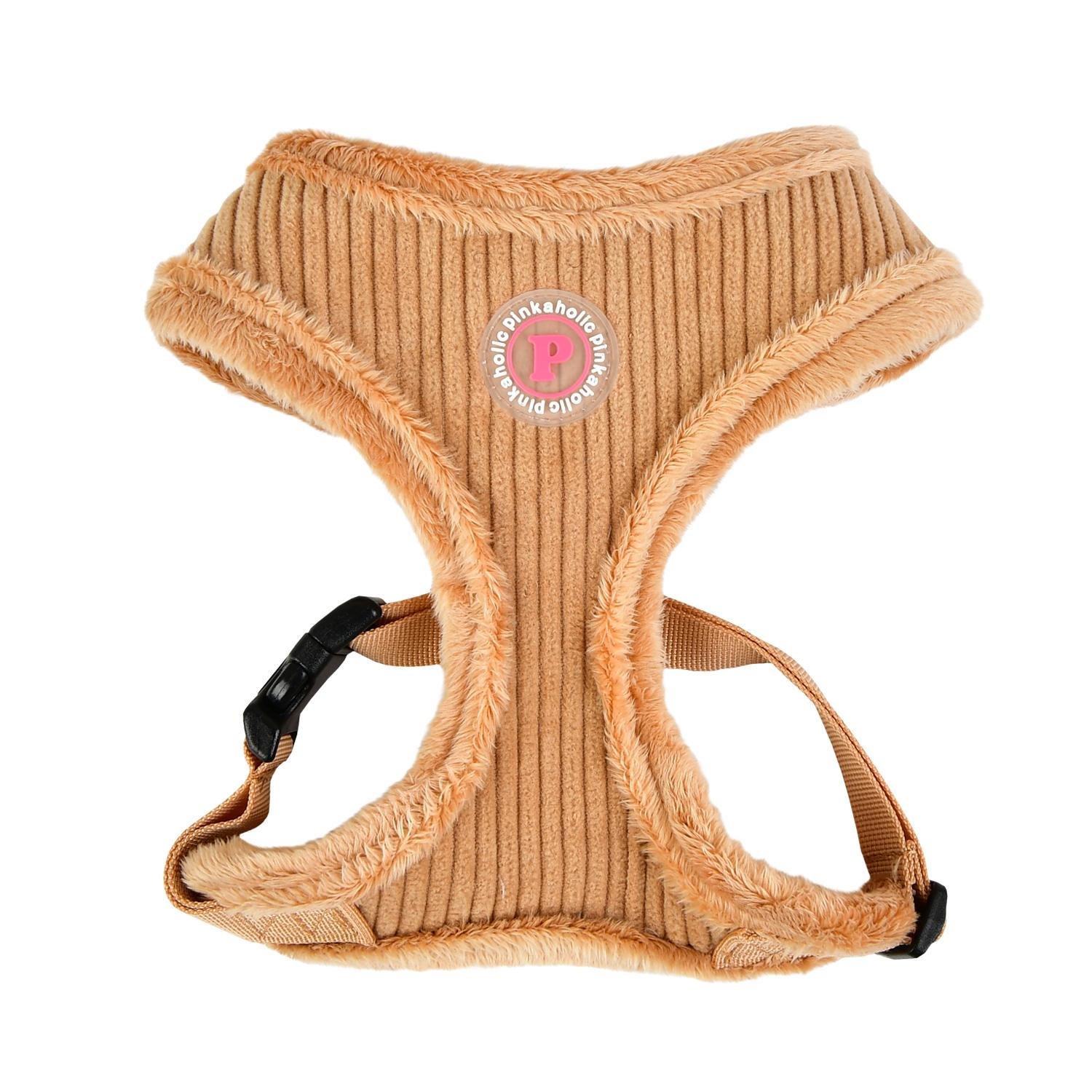Lucca Dog Harness by Pinkaholic - Beige
