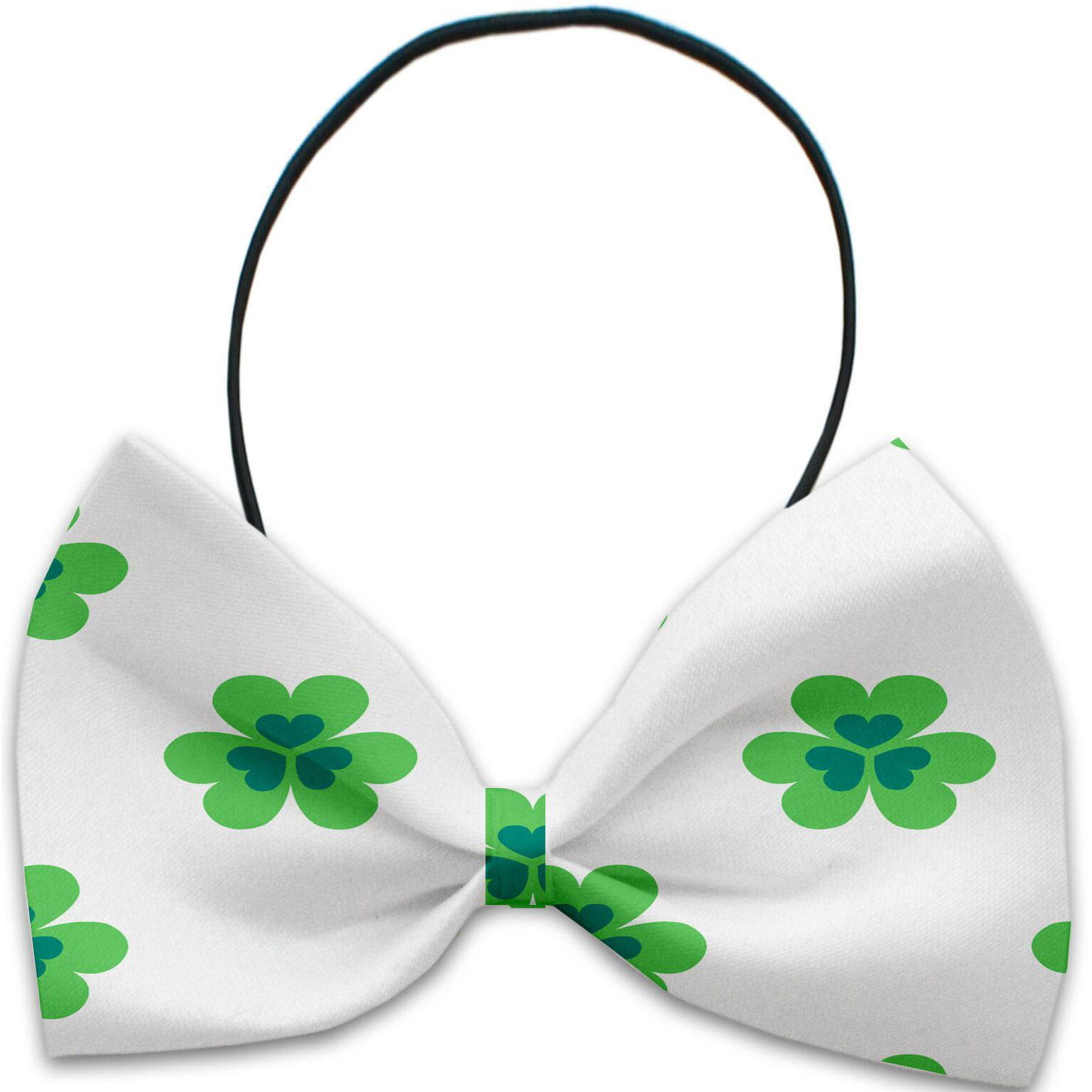 Lucky Charms Dog Bow Tie