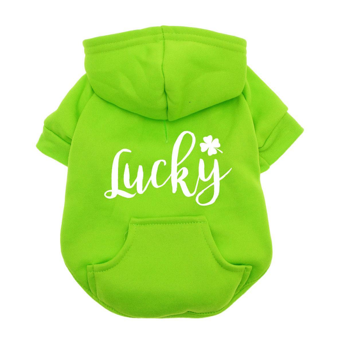 Lucky Dog Hoodie - Green