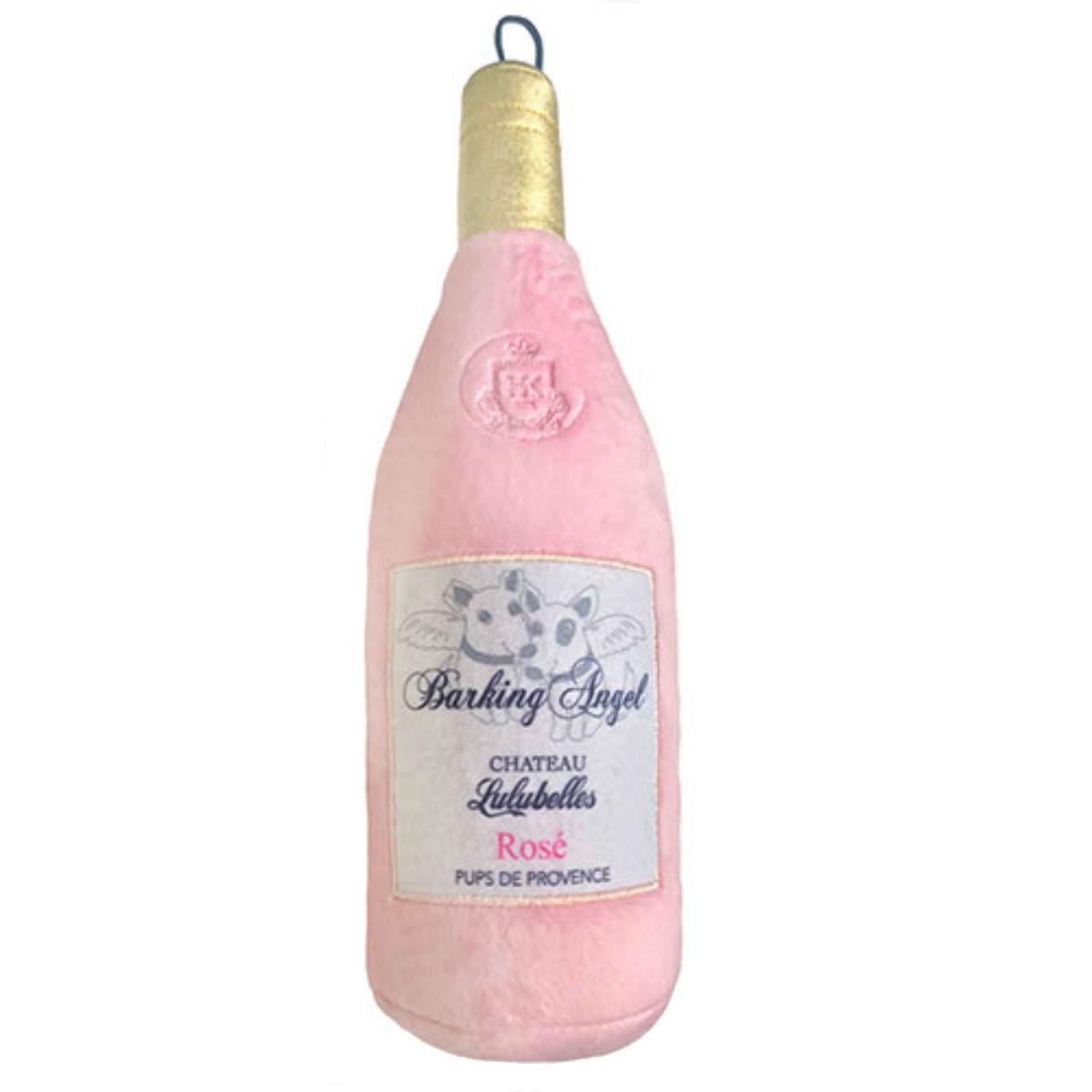 Lulubelles Power Plush Dog Toy - Barking Angel Rose Wine