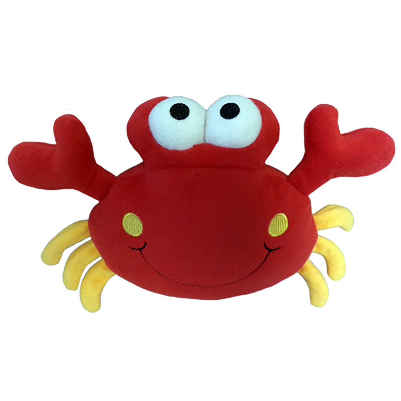 Lulubelles Power Plush Dog Toy - Crabby Patty