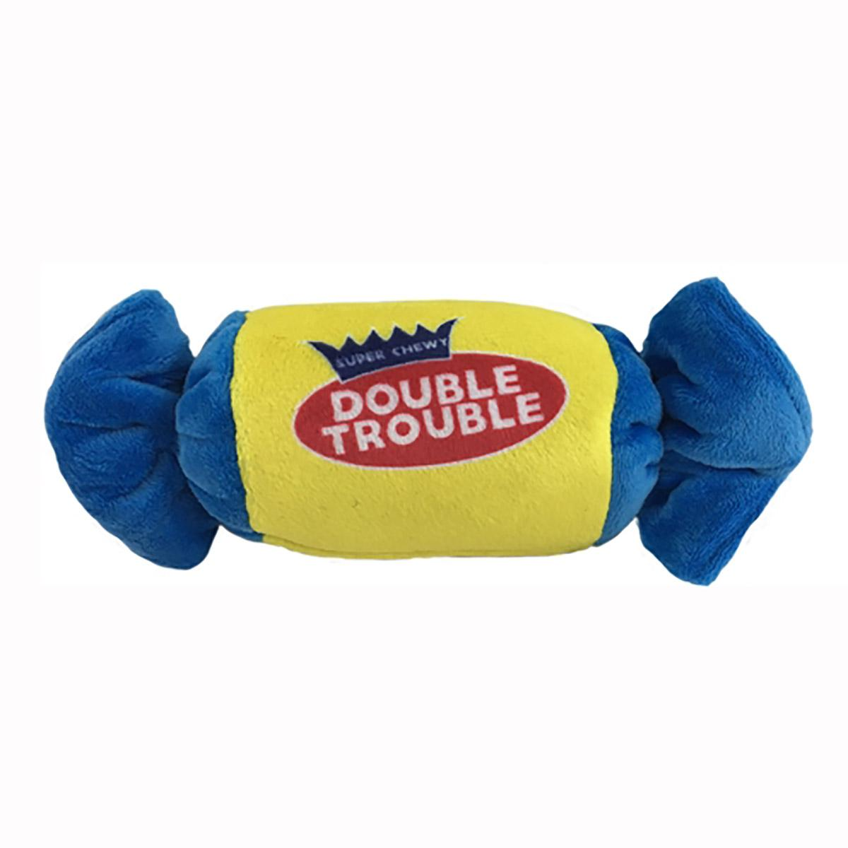 Lulubelles Power Plush Dog Toy - Double Trouble