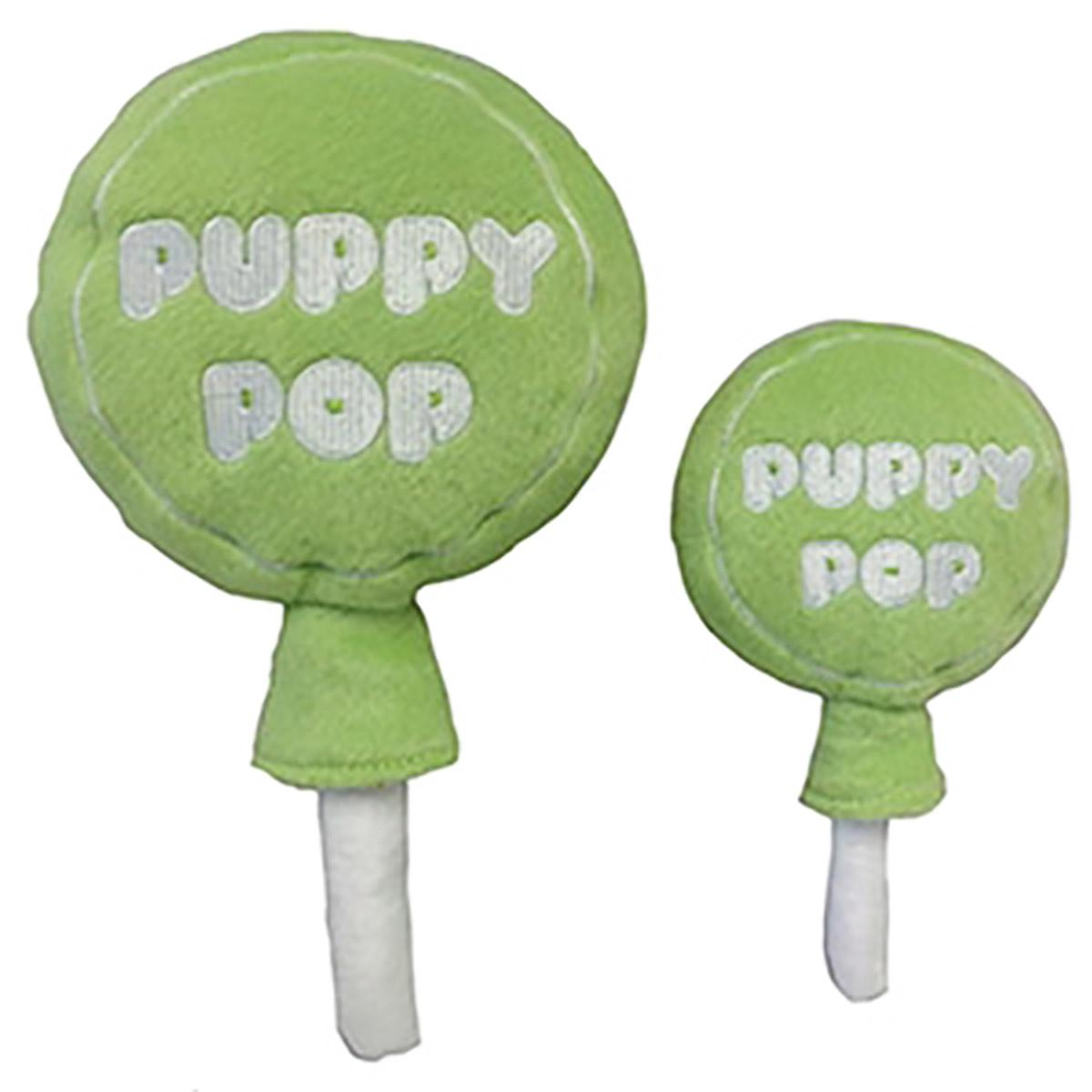 Lulubelles Power Plush Dog Toy - Lime Puppy Pop