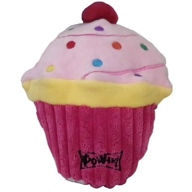 Lulubelles Power Plush Dog Toy - Pink Pupcake